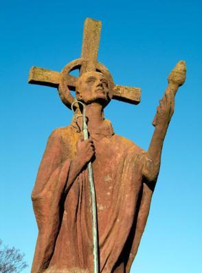 Aidan Statue